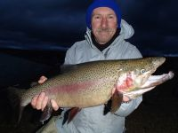 Phil Turner with Trout
